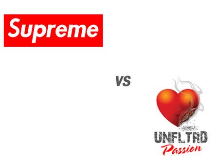 Supreme New York vs Unfltrd Passion