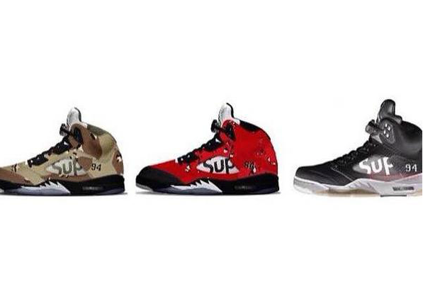 Supreme X Jordan 5 Upcoming Release | unfltrd passion