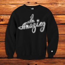 Unfltrd Passion | Amazing Crew-Neck-Sweatshirtt