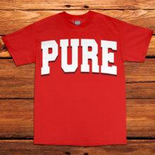 PURE---Red_White_Black---Crew-Neck-Tee