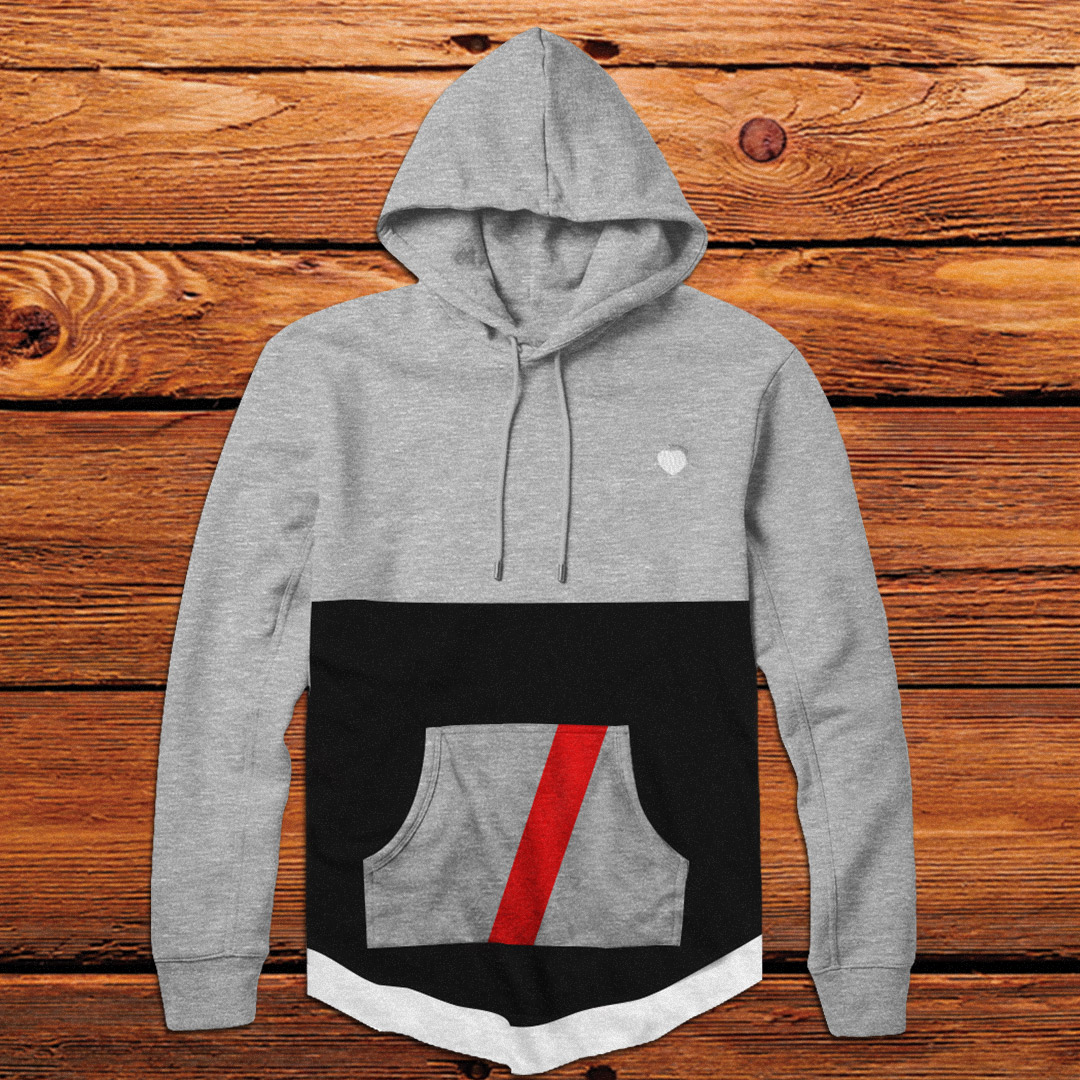 Custom Curved Hem Hoodie | 4 Colors by Unfltrd Passion
