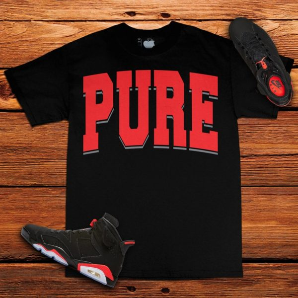 Infrared Jordan 6 Tee | PURE | Unfltrd Passion