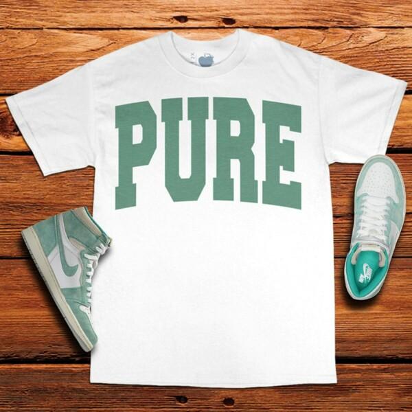 Turbo Green Jordan 1 Tee | PURE | Unfltrd Passion