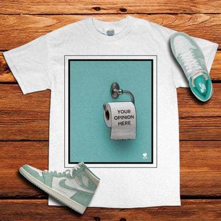 Turbo Green Jordan 1 Tee | Your Opinion Here | Unfltrd Passion