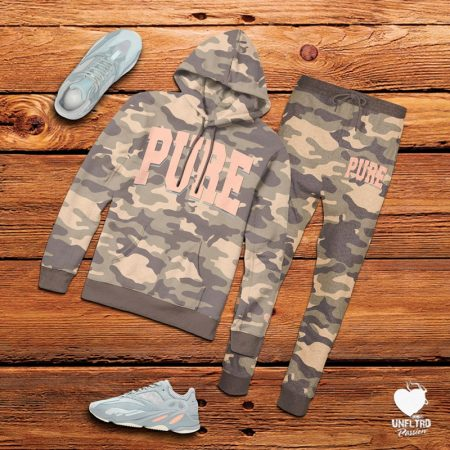 Yeezy Inertia Jogger Set || PURE Camo by Unfltrd Passion