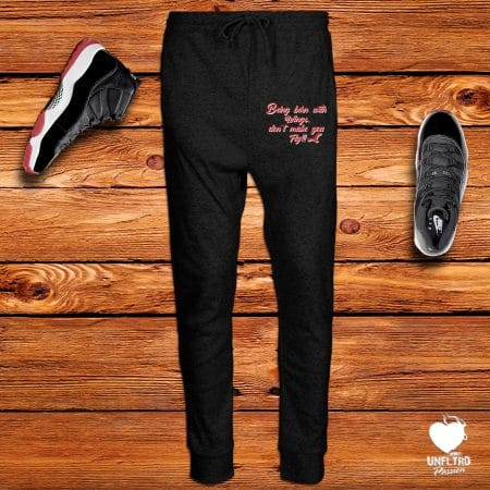 Born Fly Joggers || BRed 11's || Unfltrd Passion