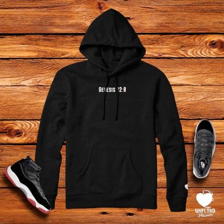 BRed 11 || God Will Provide 2 Hoodie (Black)